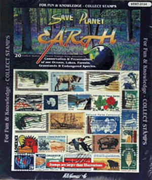 Planet Earth US- 20 Stamps Planet Earth US -- 20 Stamps, HE Harris & Co, 9TRT3134