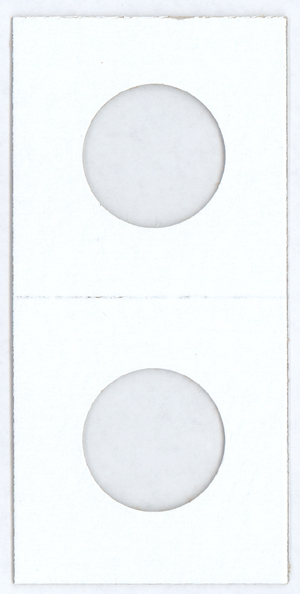 Cowens Cardboard 2x2 Coin Flips - Quarters