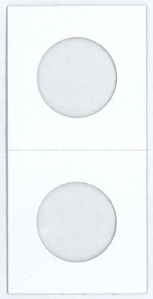 Cowens Small Dollar 2 x 2 Staple Type Coin Flips - 100 PK