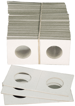 Mini Cent/Dime Paper 1.5x1.5 Coin Holders Cowens Cent/Dime Mini Cent Dime Paper 1.5x1.5 Coin Holders Cowens, Cowens, 2508