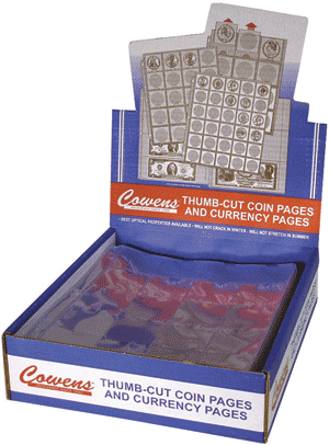 Cowens 4 Pocket Page - Box of 100