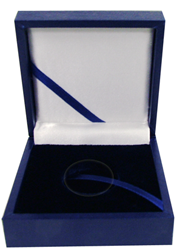 Guardhouse Blue Leatherette Box for Small Size Capsule