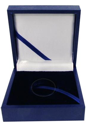 Guardhouse Leatherette Single Coin Box For Medium Capsules 3.5 x 3.5 x 1.5