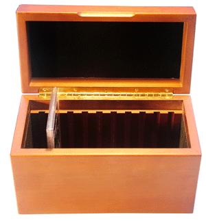 GuardHouse Wood Coin Display Box for 10 GSA Slabs GuardHouse Wood Coin Display Box for 10 GSA Slab, Guardhouse, GH-GSA-W10