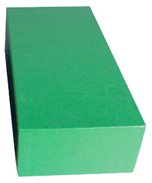 "Guardhouse Double Row Standard Slab Box - 12"" Slab & Krown Regular Duty Long Chipboard Box Guardhouse Double Row Green, Guardhouse, GH-12x5 3/4x3"