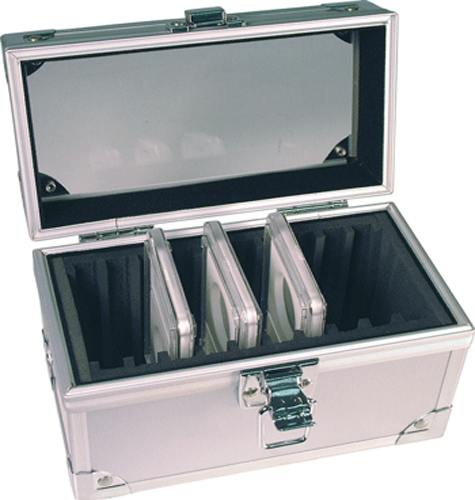Guardhouse Aluminum Box for 10 Certified Slabs - Clear Top