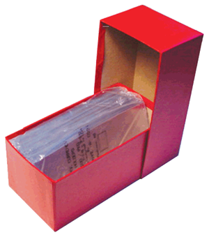 Large Currency Chipboard Box Guardhouse Red Large Large Currency Chipboard Box Guardhouse Red, Guardhouse, GH-LC1