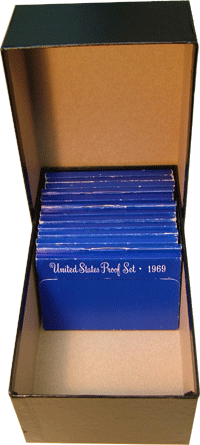Proof Set Heavy Duty Chipboard Storage Box by Guardhouse
