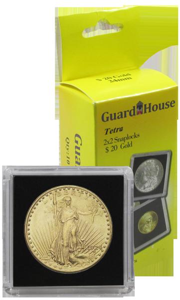 2x2 Tetra $20 Gold Eagle (St. Gaudens) - 10 per pack
