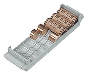 Extra Capacity Coin Roll Tray for Small Dollars - Gray