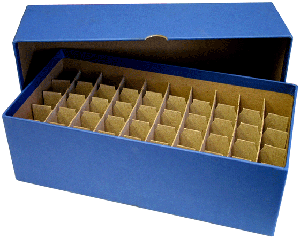 Guardhouse Nickel Tube Storage Box - Blue
