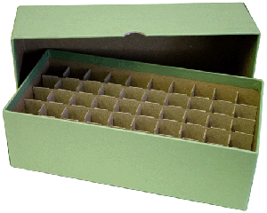 Guardhouse Dime Tube Storage Box - Green