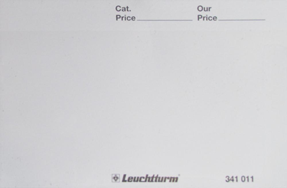 Standard 102 Blank Cards in White Standard 102 Blank Cards in White, BT1W