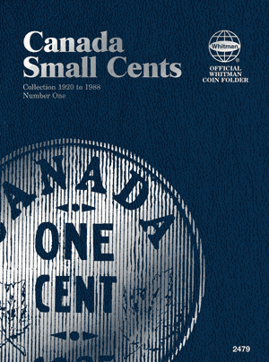 Canadian Small Cents Vol I 6x7.76 - 41288