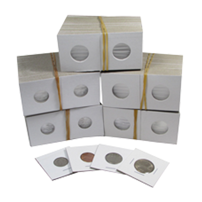 Guardhouse Penny 2 x 2 Staple Type Coin Flips - 100 Count Pack