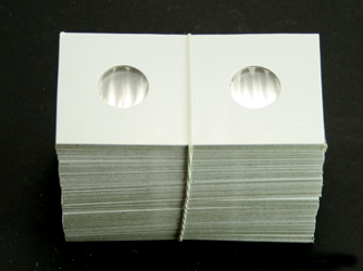 Guardhouse Dime 2 x 2 Staple Type Coin Flips - 100 Count Pack