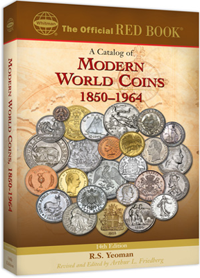 Catalog of Modern World Coins, 14th edition, 14th Edition  ISBN:0794820565 A Catalog of Modern World Coins, 14th edition, Whitman, 0794820565