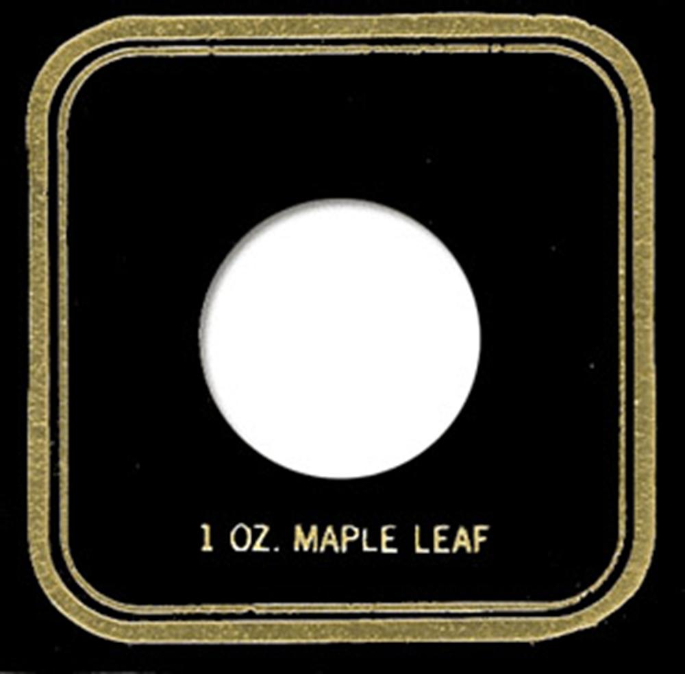 1 oz Maple Capital Plastics Coin Holder VPX Black 3.3x3.3 1 oz Maple Capital Plastics Coin Holder VPX Black, Capital, VPX