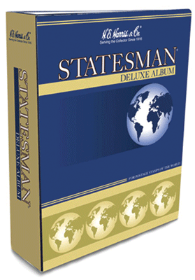 Statesman Stamp Album by HE Harris Vol. 1