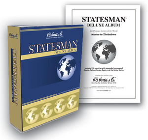 Statesman Stamp Album by HE Harris Vol. 2