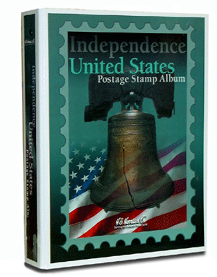 Independence Stamp Album by HE Harris