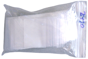 Zip Lock Bag - Write On 2x3 Zip Lock Bag - Write On, CS Express, RD68204