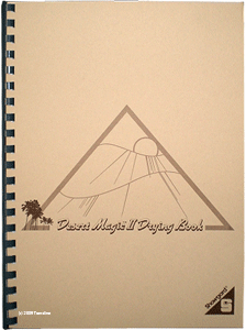 Desert Magic II Stamp Drying Book
