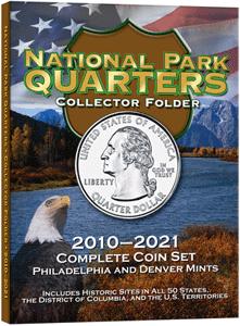 Whitman National Park Quarters Folder P & D 2010 - 2021