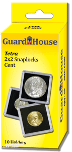 Guardhouse Tetra 2x2 Snaplock Coin Holder - Silver Eagles