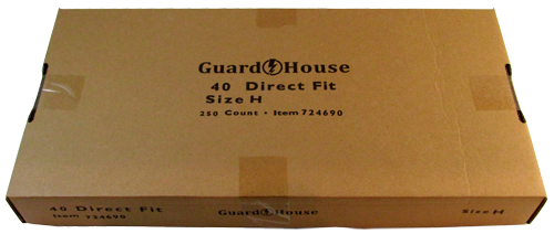 Guardhouse Silver Eagle Coin Capsules 250 Piece Pack