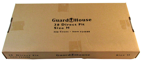 Guardhouse Large Dollar Coin Capsules 250 Piece Pack