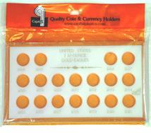 1/10 oz Gold Eagles 2004-2021 Capital Plastics Coin Holder White meteor 1/10 oz Gold Eagles 2004-2021 Capital Plastics Coin Holder White, capital, MA437A White