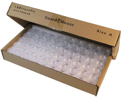 Guardhouse Dime Size Coin Capsule 250 Bulk Pack