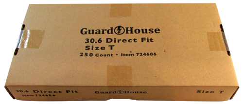 Guardhouse Half Dollar Size Coin Capsules 250 Piece Pack