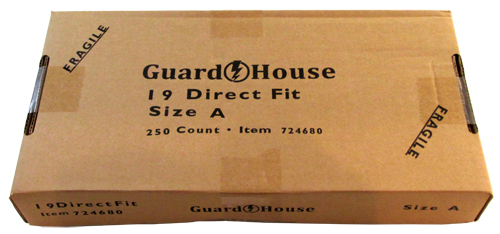 Guardhouse Penny Size Coin Capsule 250 Piece Bulk Pack