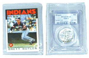 Sports Card & Slab Sleeves Sports Card & Slab Sleeves, Frame A Coin,