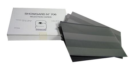 Showgard Selection Card 6x8 Black