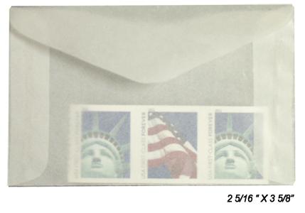 Guardhouse Glassine Envelope # 2 - 1000 PK