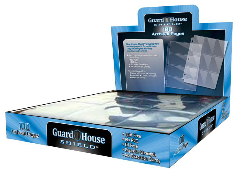 Guardhouse 20 Pocket Notebook Pages - 100 pack