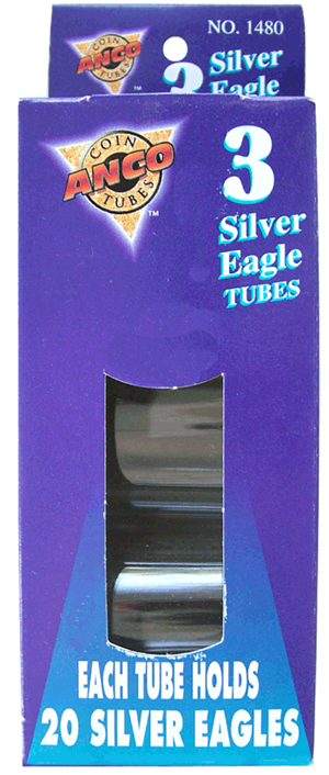HE Harris & Co A.S.E. Round Coin Tubes - 3 Pack