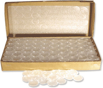 Air-Tite Coin Capsules for 1/2 oz American Gold Eagles - 250 PK