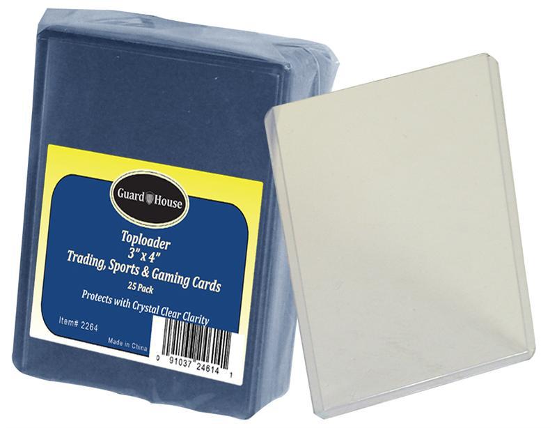 Trading Card Toploader 25 Pack
