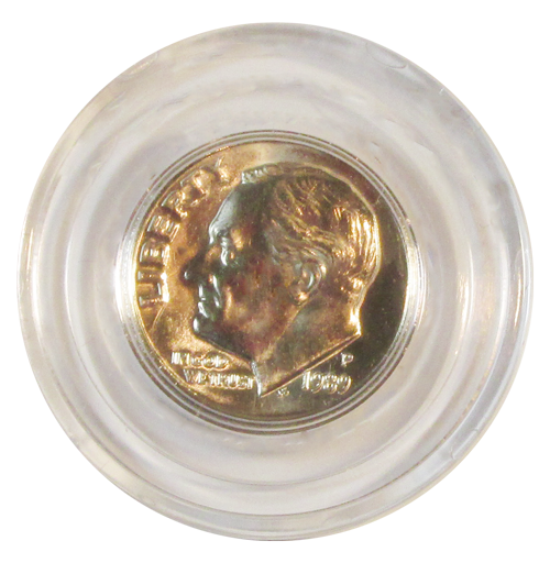 Guardhouse Dime Coin Capsule - Individual
