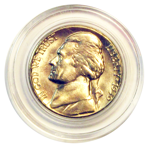 Guardhouse Nickel Coin Capsule - Individual