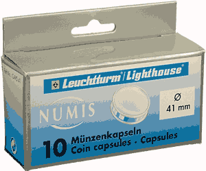 41mm - Coin Capsules  41mm - ASE 41mm - Coin Capsules , Lighthouse, CAPS41