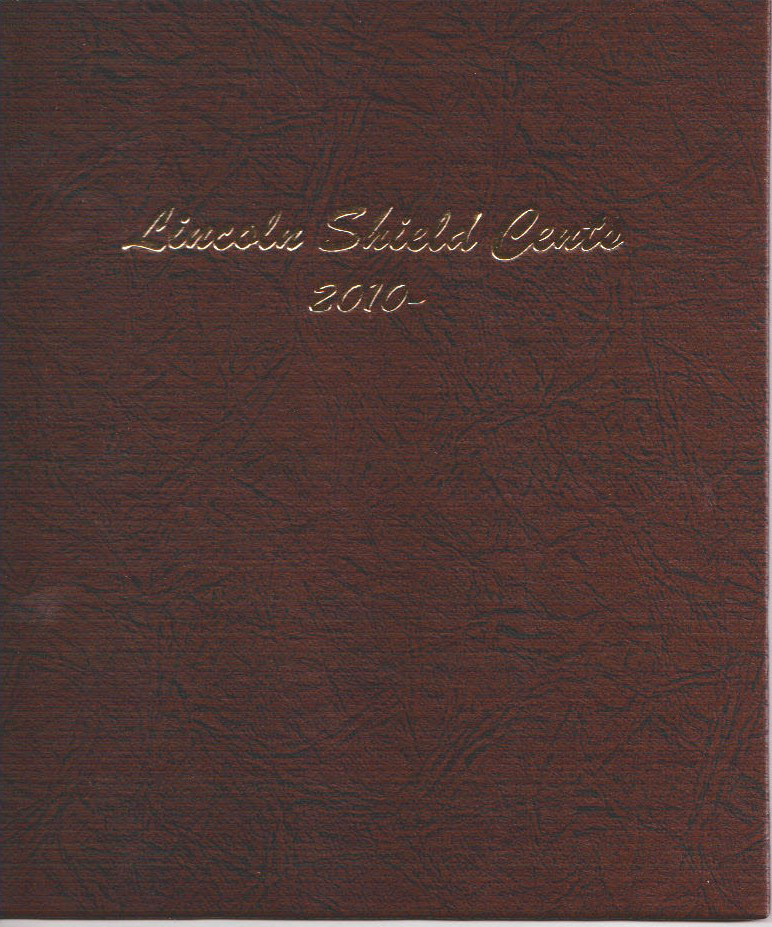 Dansco Shield Penny Coin Album Model 7104