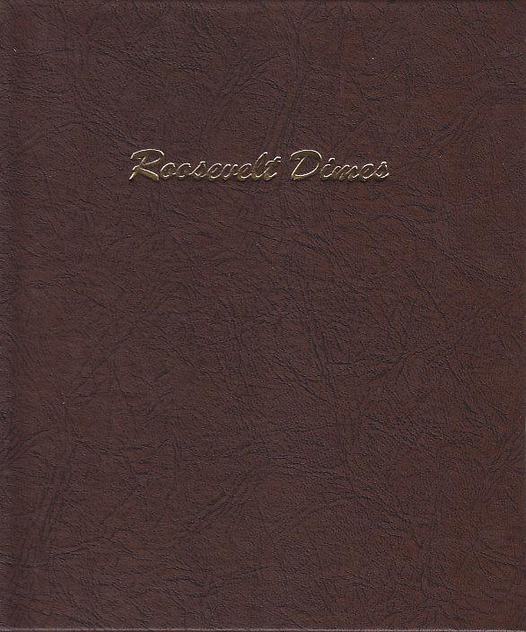 Roosevelt Dimes Dansco Coin Album
