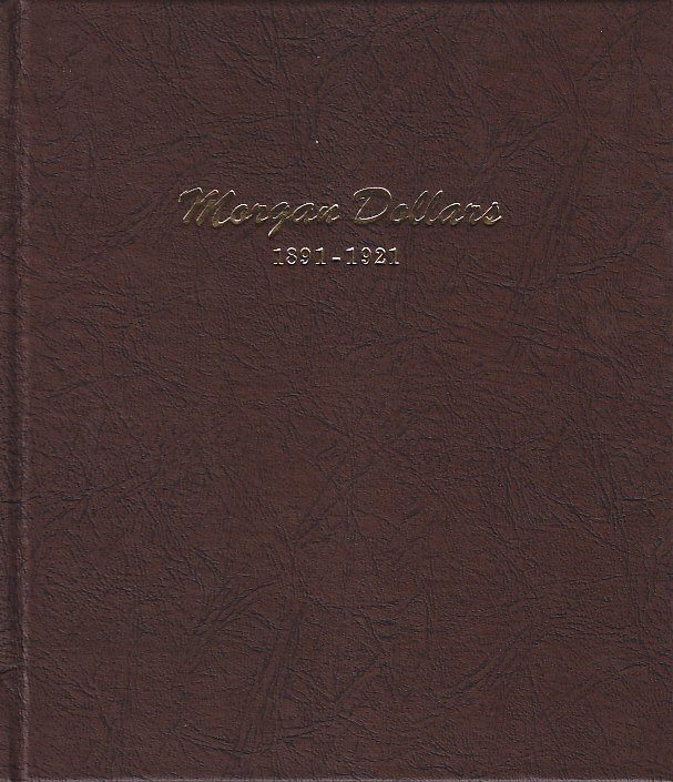 Morgan Dollars Dansco Coin Album