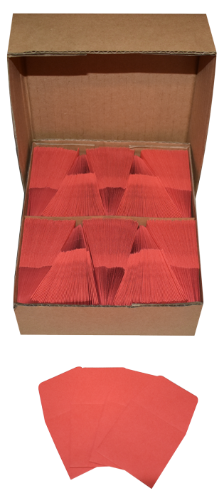 Red Guardhouse 2x2 Paper Envelope for Coin Storage