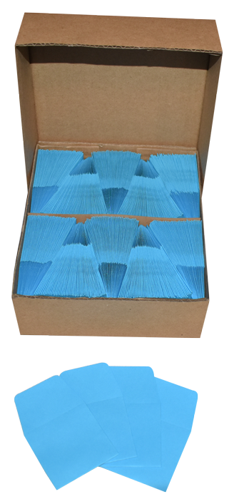 Blue Guardhouse 2x2 Paper Envelope for Coin Storage